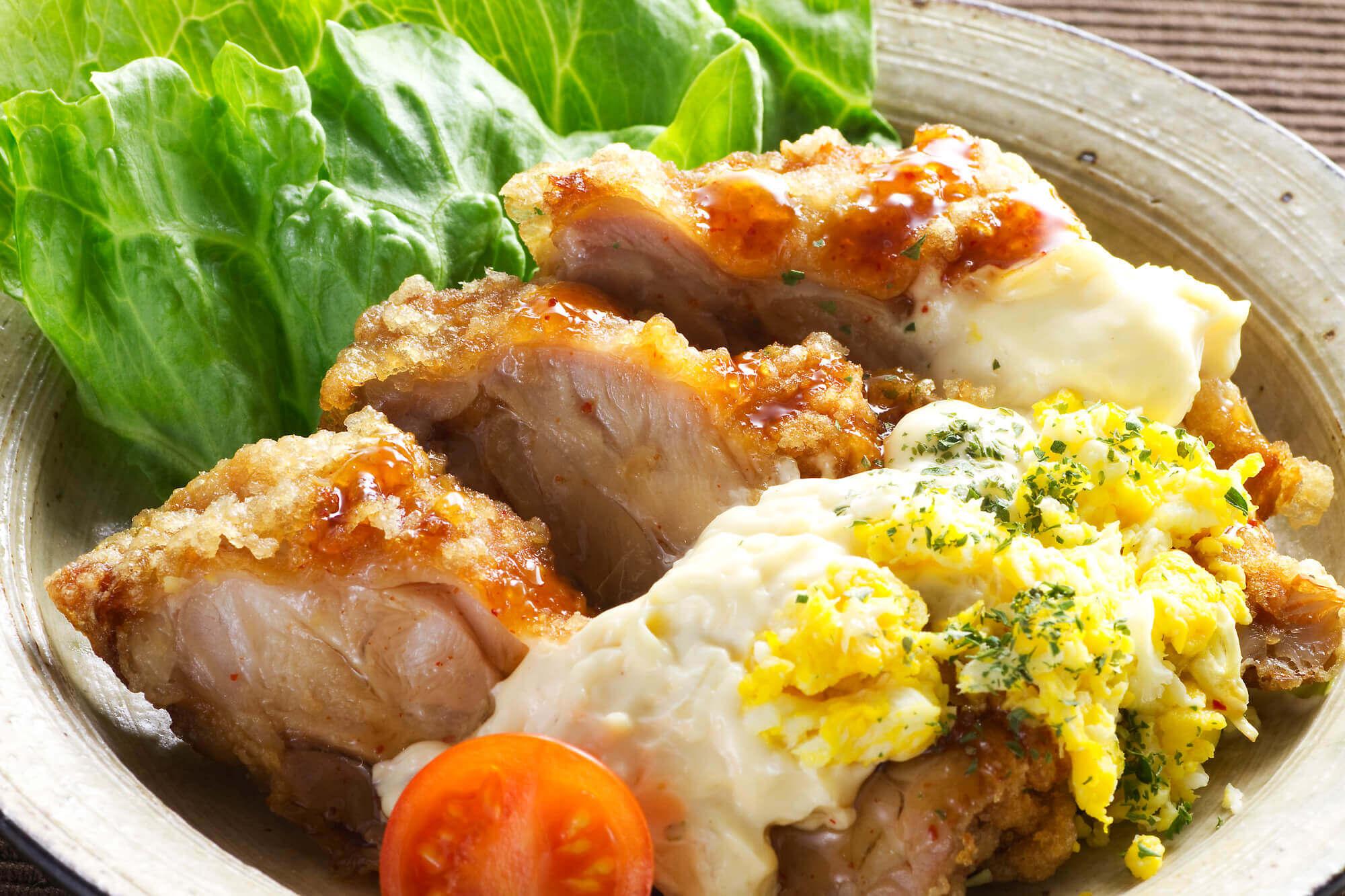 菊芋タルタルソースのチキン南蛮